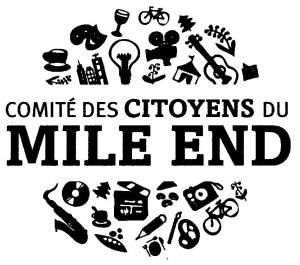 Logo du Comité citoyen du Mile End