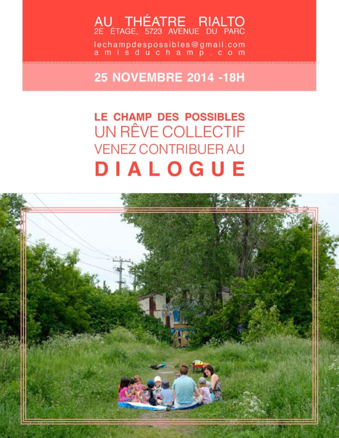 Consultation Champ des possibles
